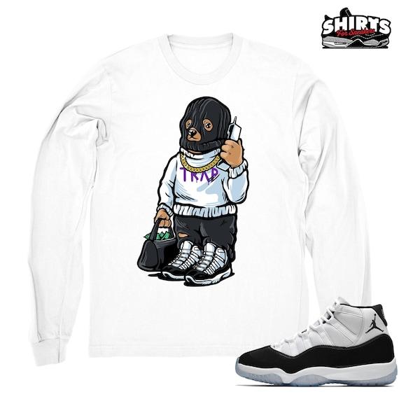 Air Jordan 11 Concord shirt Trap Bear