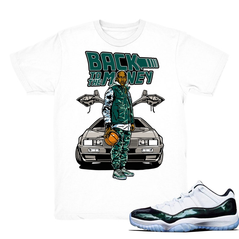 4068cf31d375e7 Air Jordan 11 low Easter shirt To the Money Retro 11 low