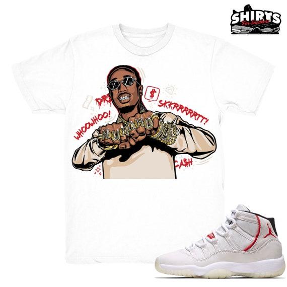 8a79b83f02dc Air Jordan 11 Platinum Tint shirt Huncho Rings Retro 11