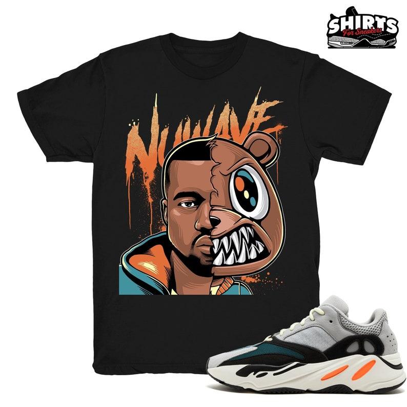 4c7a5c3d8 Yeezy Boost Wave Runner 700 shirt Kanye Nu Wave Wave