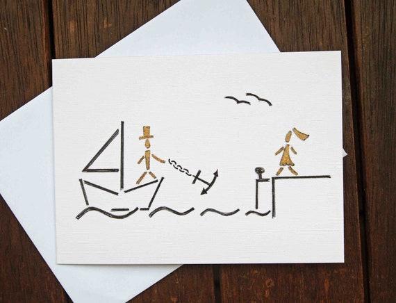 Hochzeitskarte Handgemacht Etsy