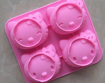 New Silicone Chocolate Mold 28 Even Qq Expression Personality Ice Model Cartoon Cute Diy Silicone Mold Kitchen,dining & Bar