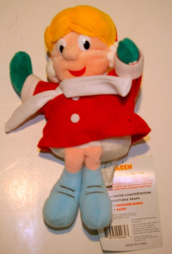 "CVS 6/"" Karen Frosty The Snowman Plush New w// tag"