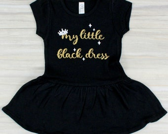 3777c8a02640 Little Black Dress, Baby Girl Dress, Baby Girl Coming Home Outfit, Girls  Black Dress, Black Dress Tutu, Baby Girl Clothes, Baby Girl Romper