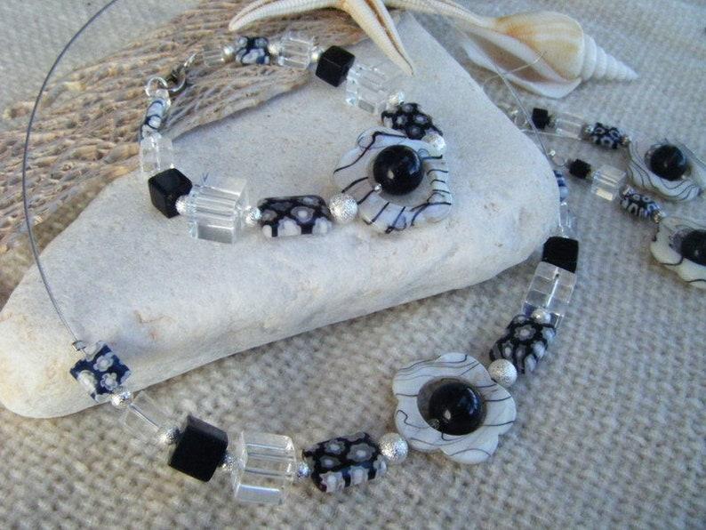 collier zeabraflower *