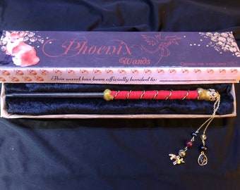 Fox Themed Wand with Matching Box