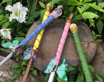 Magical Garden Butterfly Wands with box
