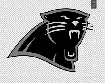 image regarding Carolina Panthers Printable Logo identify Panthers emblem Etsy
