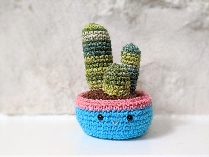 Amigurumi Downloadable Patterns CROCHET PATTERN PACK: Cozy Fall Cactus Cactus Trio Ball Cactus Home Office Decor