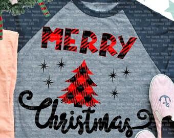 Merry Christmas Buffalo Plaid svg files for cricut, Iron on design, Digital sublimation transfer, Spiritual svg, baby kids first holidays