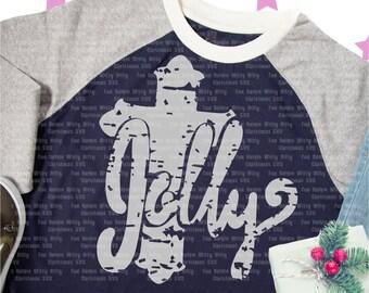 Jolly Christmas grunge distressed Iron-on design, Cross svg, Spiritual svg, Christian religious svg file for cricut, believe true story