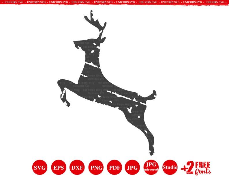 Baby shirt design ideas dxf Fun Christmas svg Antler svg Distressed Reindeer Christmas svg Winter svg Grunge reindeer Grunge svg font