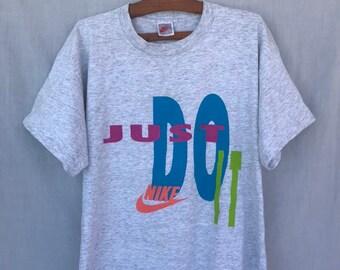 86fddffb1976f2 Vintage Nike Grey Tag T-shirt 90s