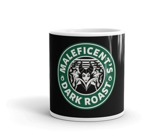 38eeb96793d Inspired Maleficent Coffee Mug , Inspired Starbucks Coffee Mug