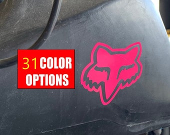 Fox Racing Decal Etsy