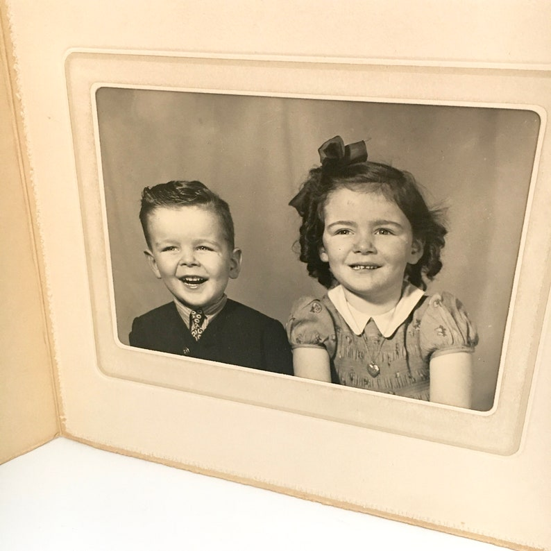 Vintage Black /& White Photograph  Portrait Photography  Old Photo  Sepia Tommy and Evelyn