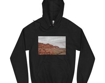 Red Rocks Unisex Fleece Hoodie