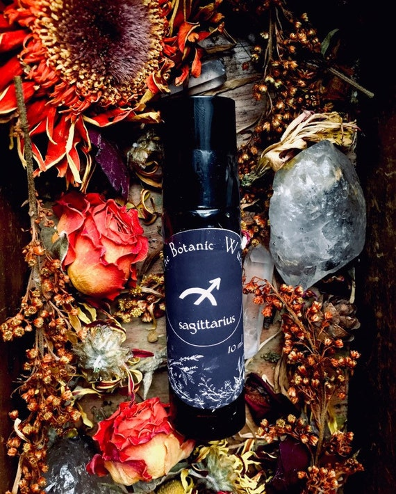 Sagittarius November December Birthday natural perfume  oil