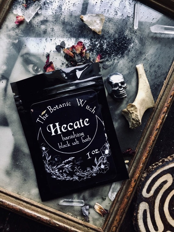 Hecate Black Salt Dark Moon Ritual Bath