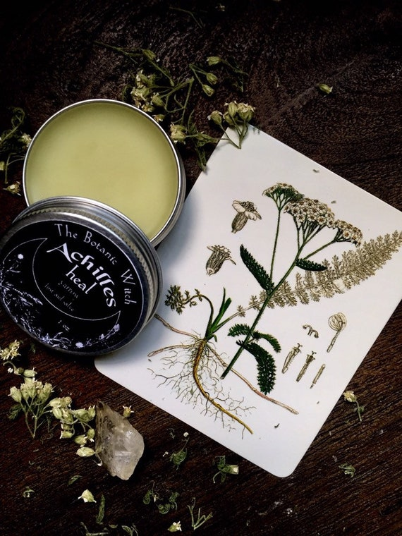 Natural first aid herbal healing yarrow salve