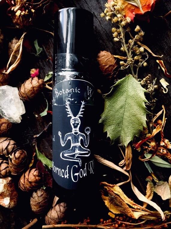 Horned God Ritual oil