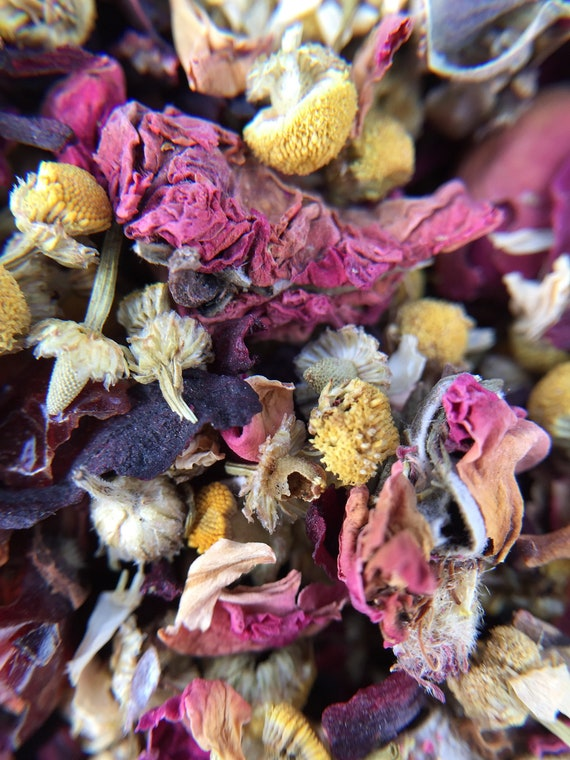 Chloris floral herbal tea