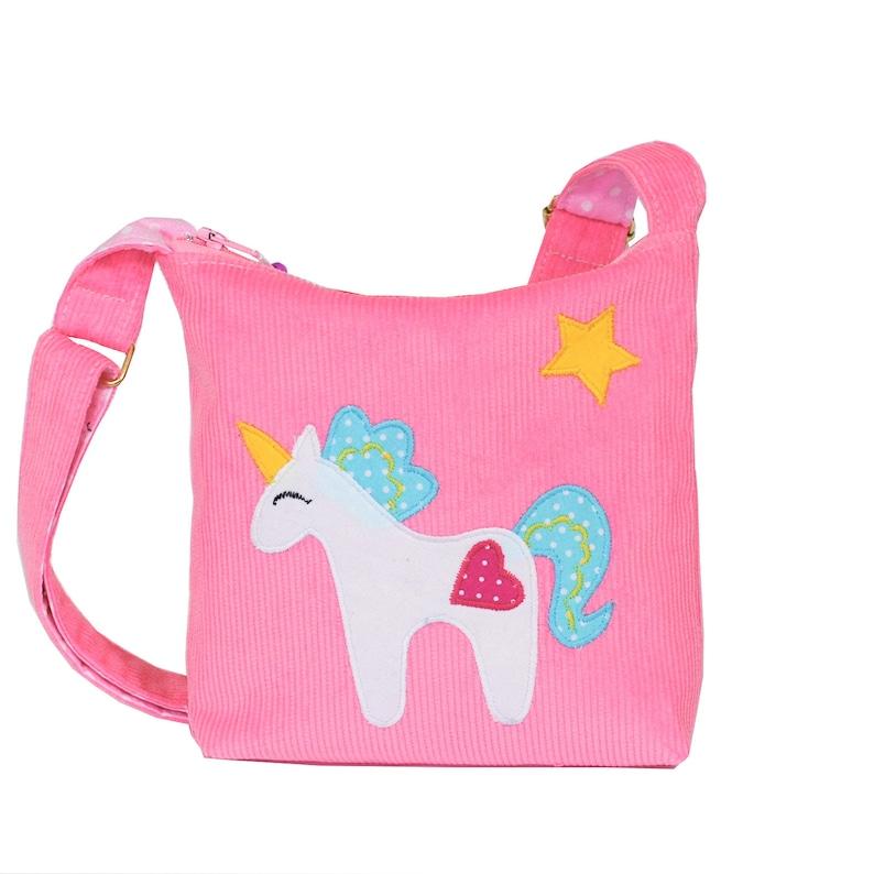 8787c010ff00 Toddler's, girl's small Junicorn Purse, a rose kids crossbody, small girl's  bag with Junicornon, a pink messenger, birthday girl gift