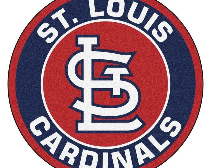 St. Louis Cardinals Bar Coaster/ Art/ Ceramic Coaster Set/ Cardinals Fan/ MLB/ Hostess Gift/ Home Bar
