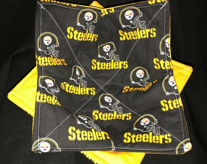Pittsburgh Steelers, Microwave Bowl Cozy, Soup Bowl Holder, Soup Bowl, Bowl Pot Holder