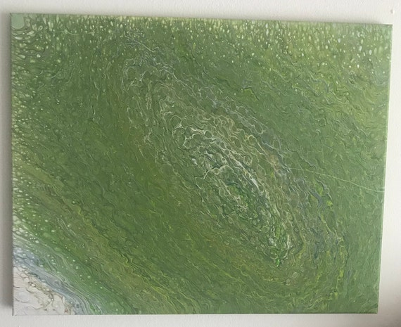 Acrylic Pour Painting  Abstract Art