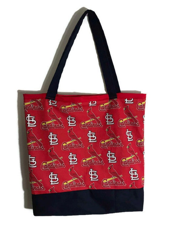 St. Louis Cardinals Farmers Market Tote Bag