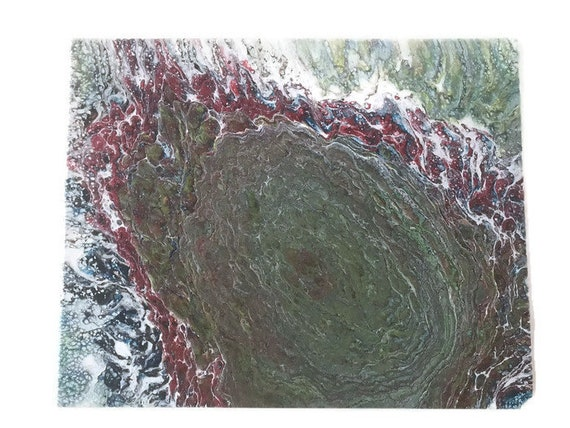 Acrylic pour Fluid art Abstract  painting wall art Original artwork acrylic painting