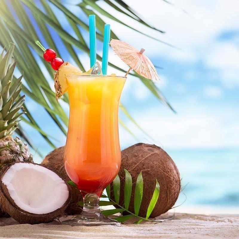 8 oz Mason Jar *Jamaica Me Crazy* Coconut and Soy Wax Candle