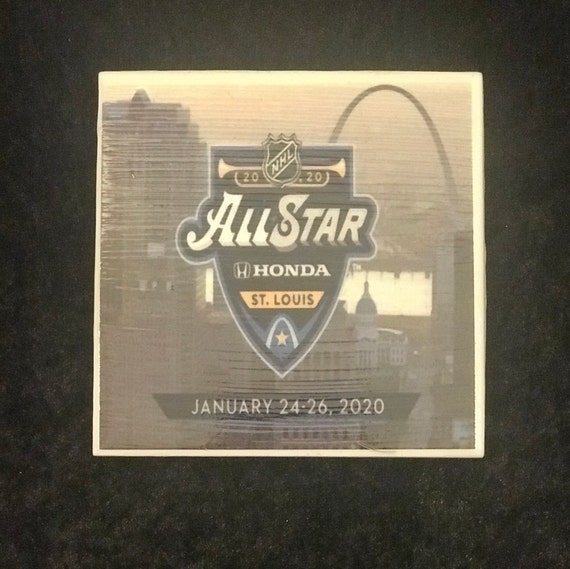 All Star Game 2020/ St Louis All Star Game/ Ceramic Drink Coaster/ Beer Mat