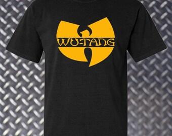 1ceb47b11915d Wu-Tang Clan Vintage Hip Hop Logo black T Shirt