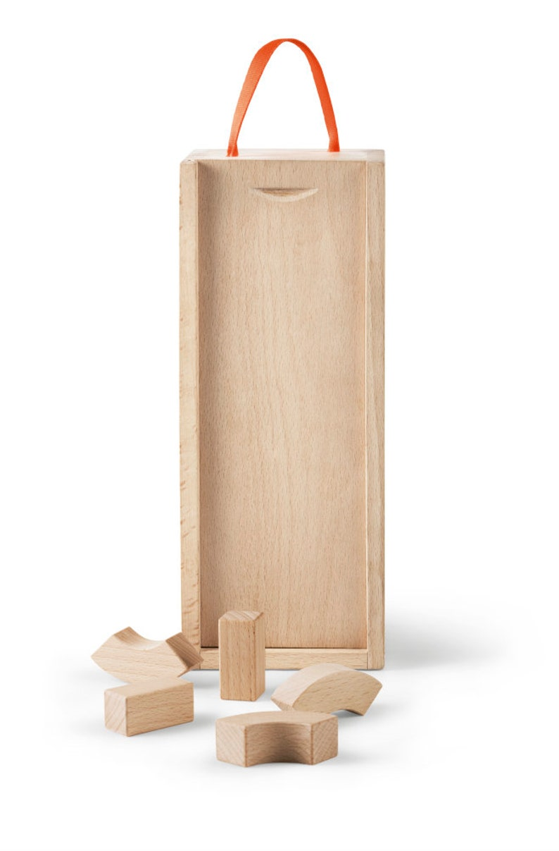 Kay Buoyen alphabet-Wooden building blocks