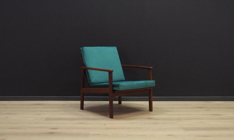 Sessel Dänisches Design 60 70 Teak Vintage Etsy