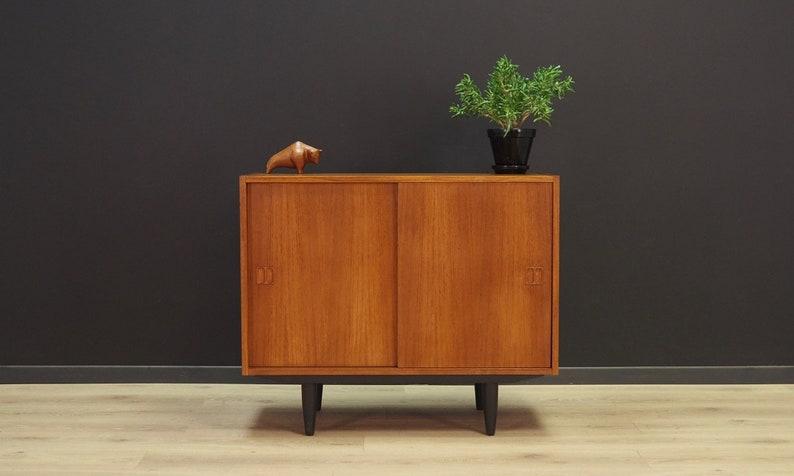 Vintage Cabinet Danish Design Teak Retro Etsy