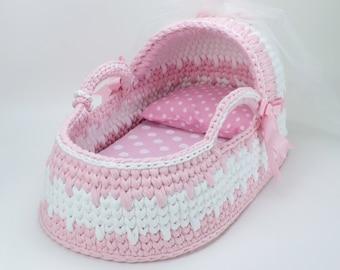Baby mädchen stubenwagen rosa stubenwagen für mädchen etsy