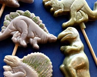 Pterodactyl Lollipop CHOCOLATE Candy MOLD Dinosaur Flying Reptile Prehistoric