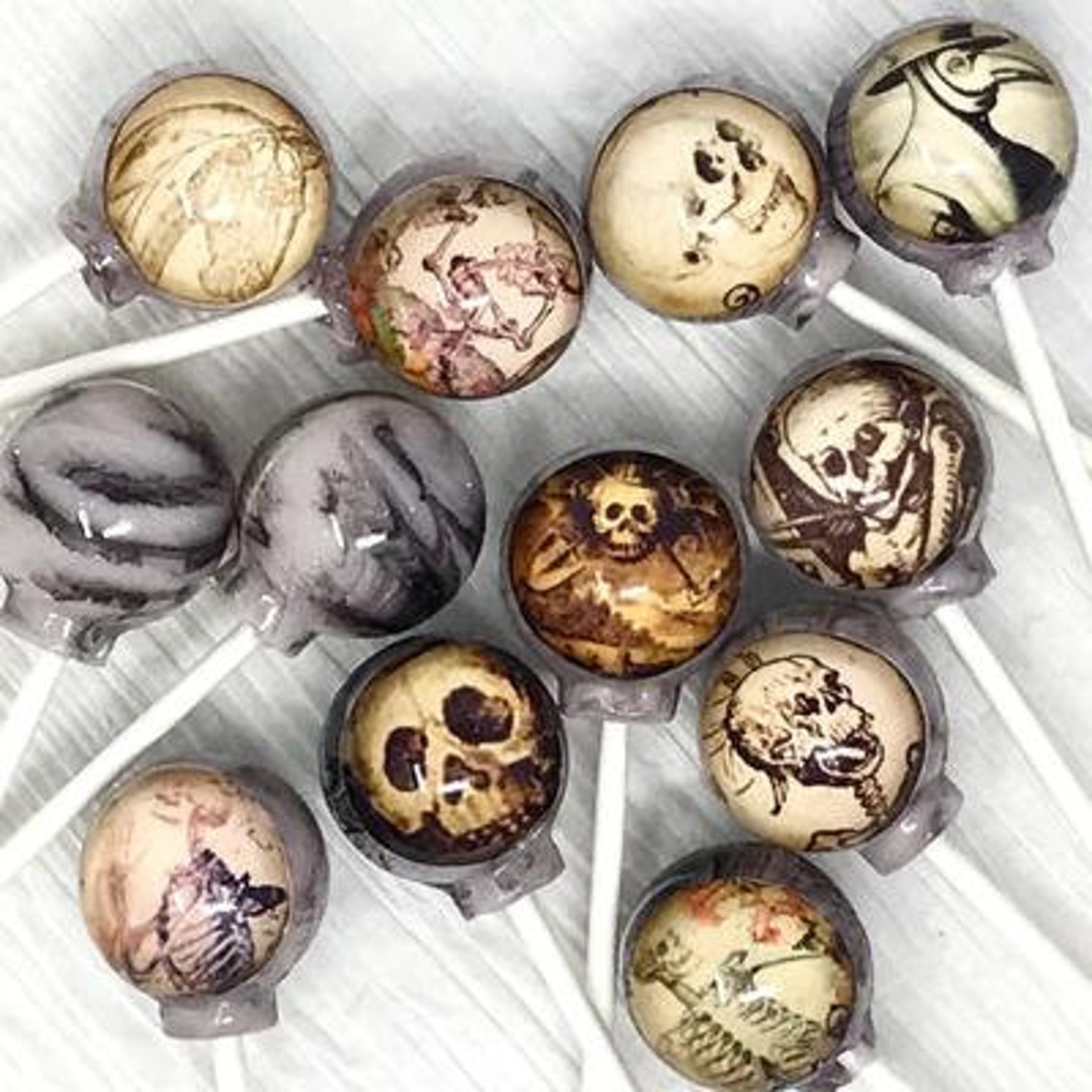 Skeleton Lollipops
