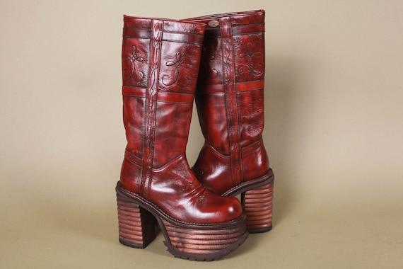 Deadstock El Dantes Chunky Platform Boots