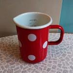 Measuring cup 0.5 liters enamel