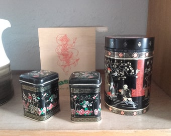 Tea cans to choose from