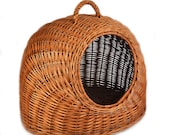 MyBer Cat Transport Box Cats Basket Cave Cat Cave Cat Basket Dog Basket Braided from Willow K5-081