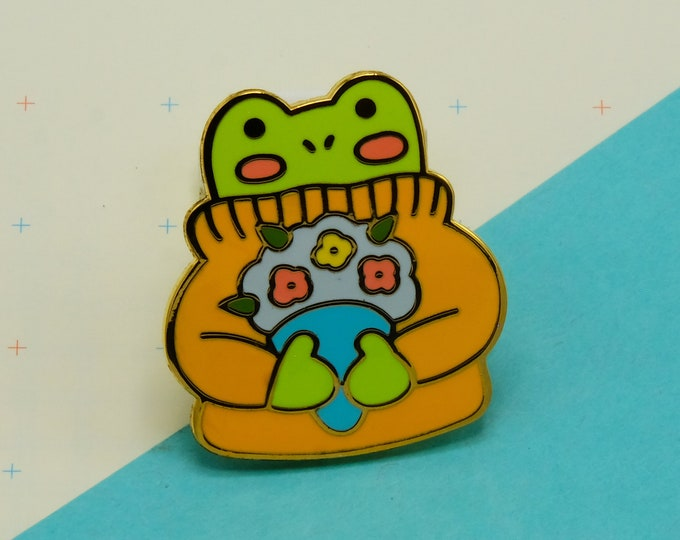 Froggy Pin by Asia Kang