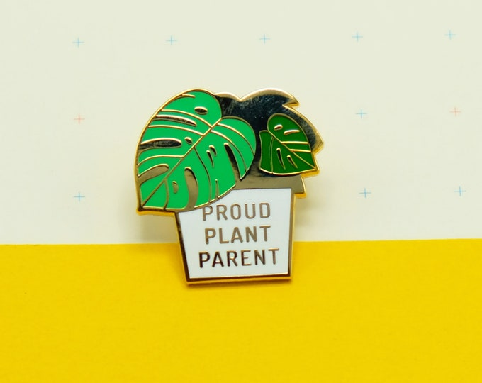 Proud Plant Parent Pin