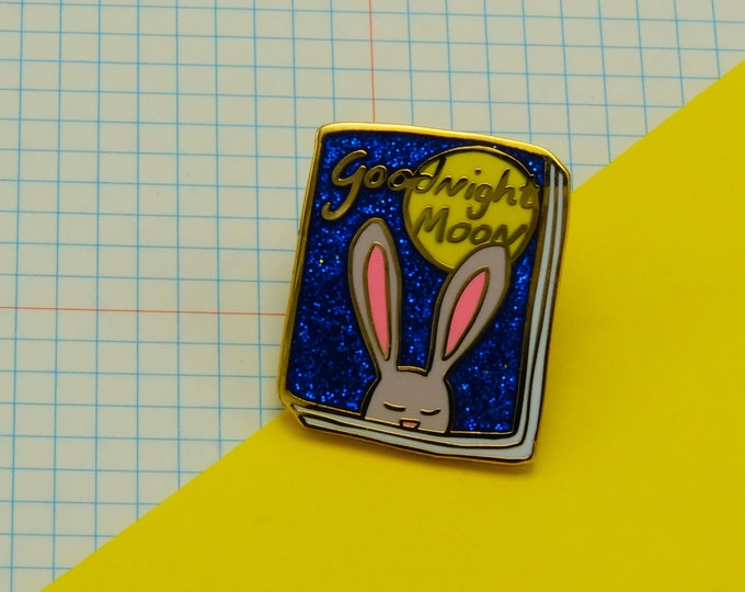 Goodnight Moon Book Pin
