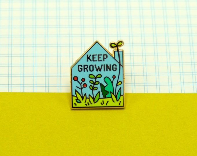 Keep Growing Pin