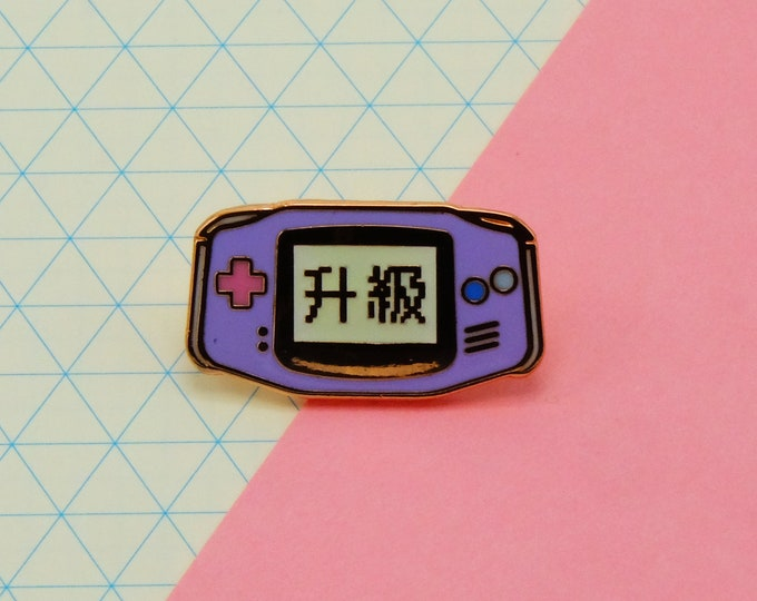 Level Up Pin (Glow in the dark)